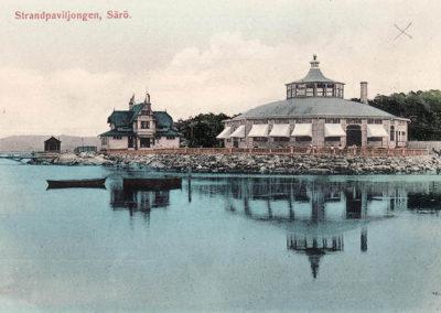 Särö historik Strandpaviljongen samt stationshuset