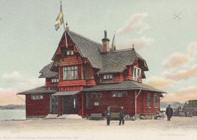 Särö historik Stationshuset för järnvägen
