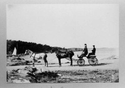Särö historik häst och vagn
