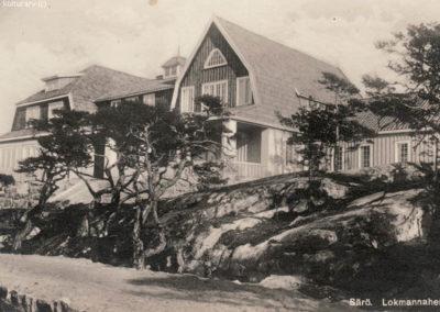 Särö historik Lokmannahemmet