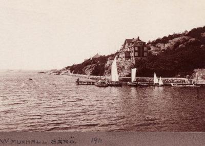 Särö historik Wauxhall